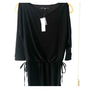 White House Black Market black dress with sleeves